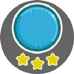 Finished a level with 3 stars!