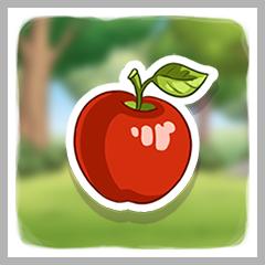 Apfelsammlerin